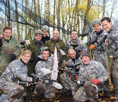 paintball  team building Bruxelles -Wavre -Waterloo-BW